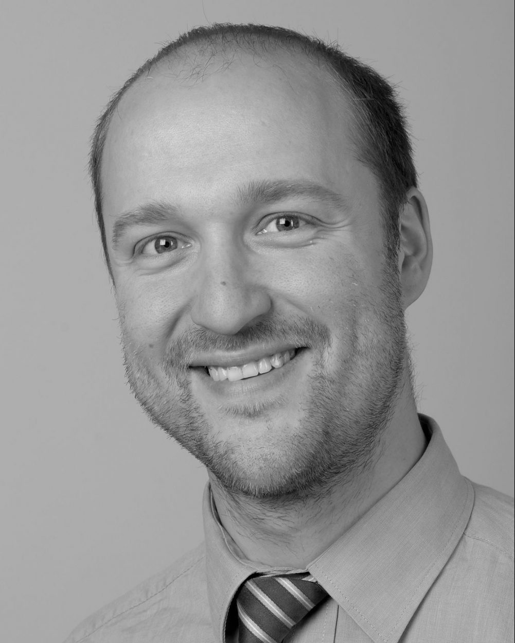 Micha Profilbild schwarz weiß - PolyRadar