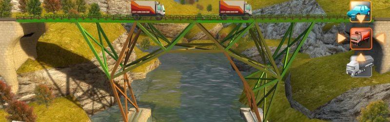 Bridge Constructor – Nun auch auf der PS4 erhältlich!