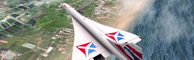 Take Off: The Flight Simulator – Supersonic DLC Trailer