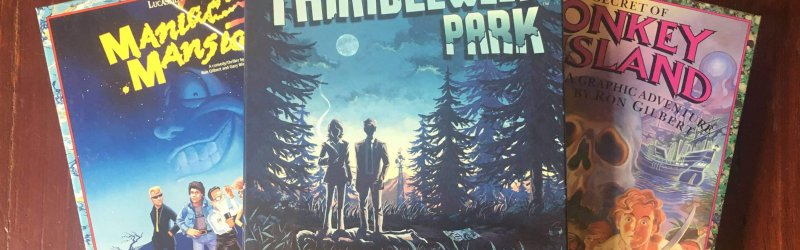 Thimbleweed Park Collector's Game Box
