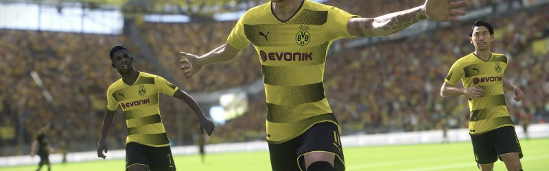 Pro Evolution Soccer 2018 – Neuer BVB Trailer