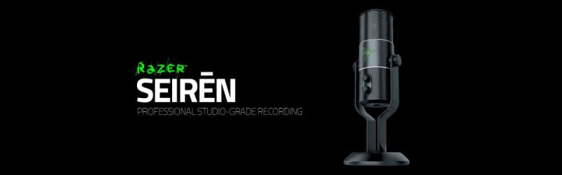 Razer – Streaming-Mikrofon Razer Seiren Elite angekündigt