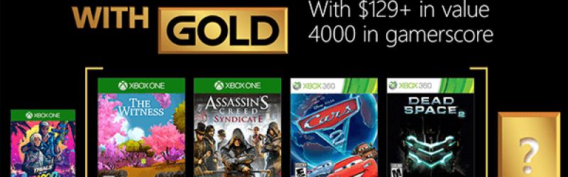 Games of Gold – Kostenlose Spiele im April