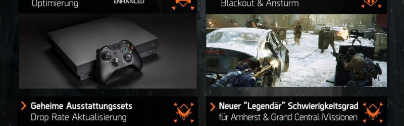 The Division – Optimierung für Xbox One X