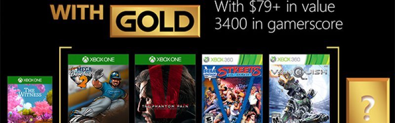 Games with Gold im Mai