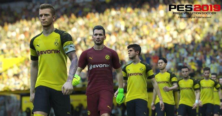 """PES 2019 – """"Neue Club Selection"""" enthält FC Schalke 04"""