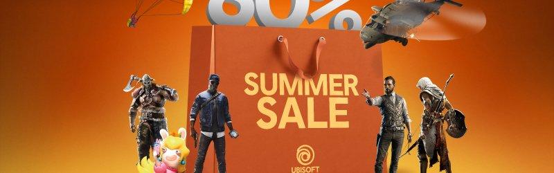Ubisoft Summer Salfe mit bis zu 80 Prozent Rabatt