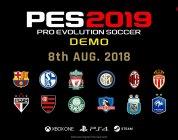 PES 2019 – Demo erscheint am 08. August
