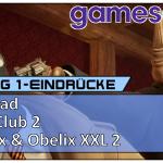Gamescom 2018 – Blacksad, Gear Club 2 und Asterix & Obelix XXL 2 angespielt