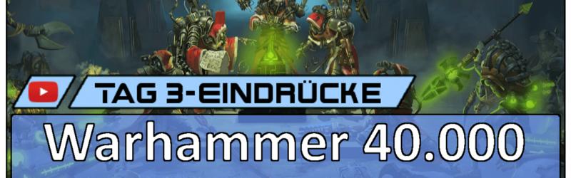 Gamescom 2018 – Warhammer 40.000: Mechanicus [Vlog]