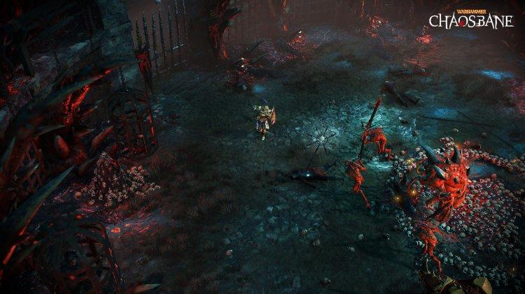 Warhammer: Chaosbane – Soldat Konrad Vollen im Trailer vorgestellt