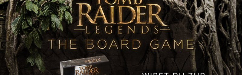 Tomb Raider Legends – Boardgame erscheint Februar 2019