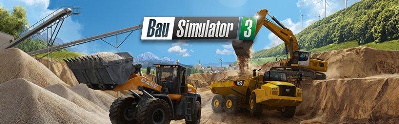 Bau-Simulator 3 – Veröffentlichung mit großer Fahrzeugflotte