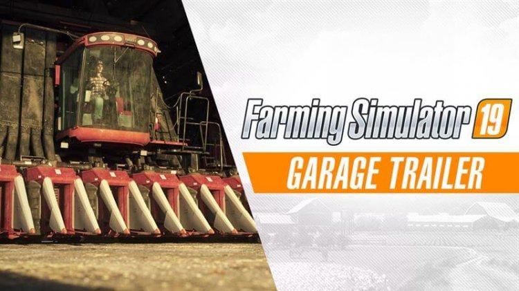 Landwirtschafts-Simulator 19 – Garage Trailer stellt Fuhrpark vor