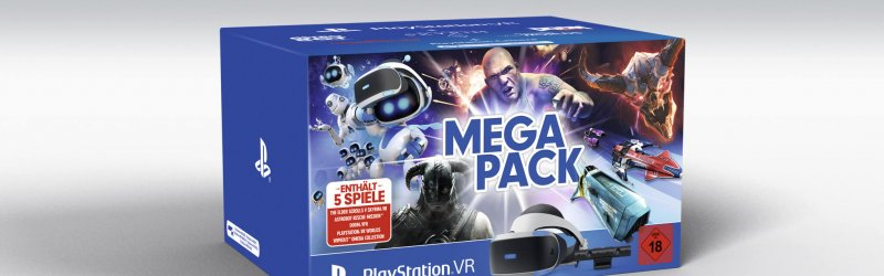 PlayStation VR Mega Pack veröffentlicht