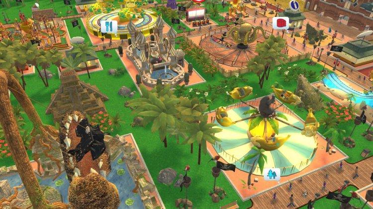 Rollercoaster Tycoon Adventures – Release für Nintendo Switch!
