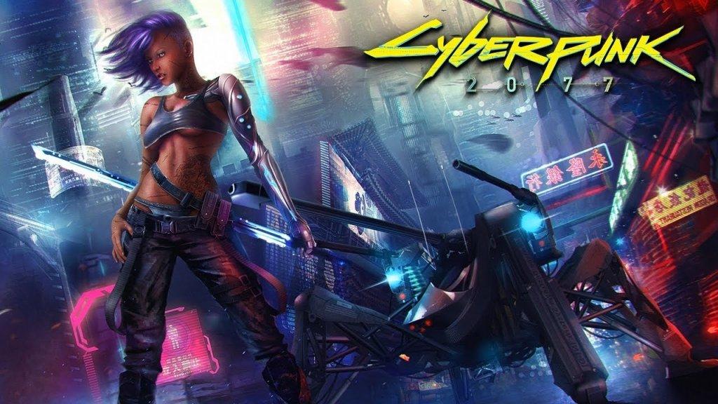 Konzept-Art für Cyberpunk 2077