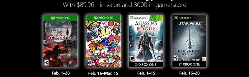 Games with Gold – Kostenlose Spiele im Februar