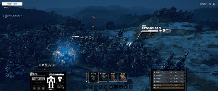 Battletech - Screenshot
