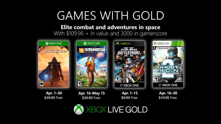Games with Gold – Kostenlose Spiele im April