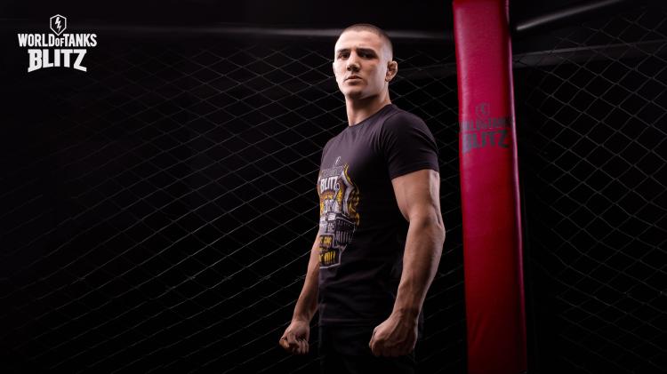 World of Tanks Blitz – Werbekampagne mit MMA-Kämpfer Aaron Pico