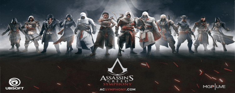 Assassin's Creed – Symphony live am 4. Oktober 2019 in Düsseldorf