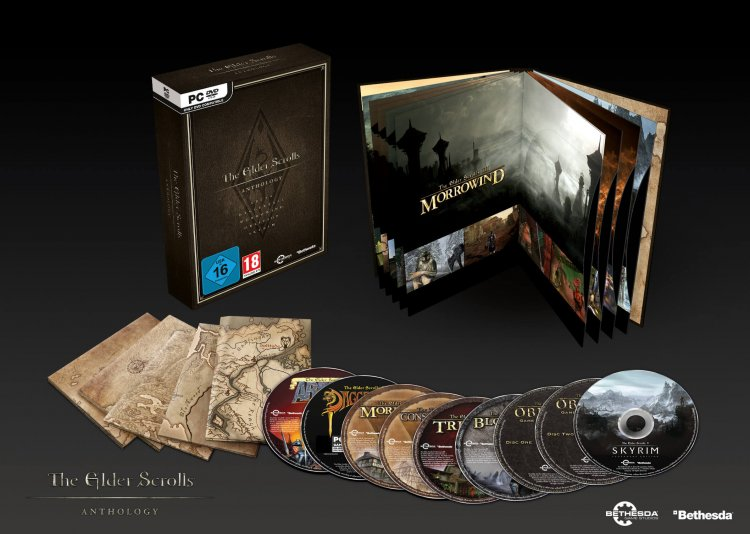The Elder Scrolls Anthology 25th Anniversary Edition ab sofort im Handel