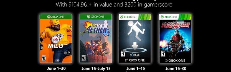 Games with Gold – Kostenlose Spiele im Juni