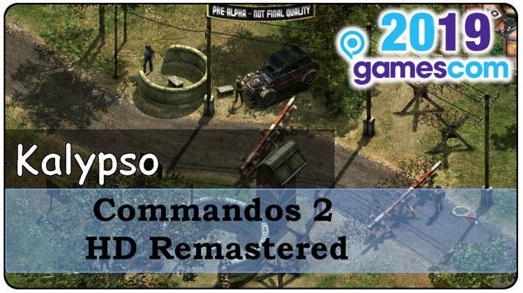 Gamescom 2019 – Commandos 2 HD Remastered & Co im Vlog