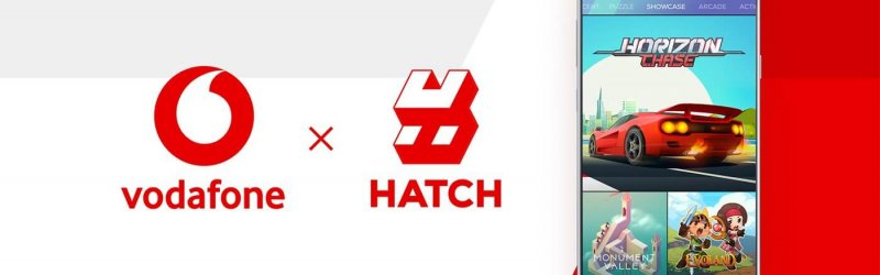Vodafone und Hatch Entertainment starten Cloud Gaming App