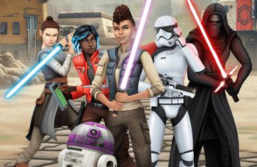 Gamescom 2020 – Die Sims 4 Star Wars: Reise nach Batuu Trailer