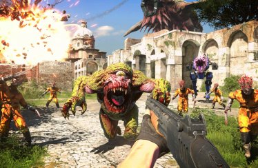 Gamescom 2020 – Serious Sam Gameplay Trailer