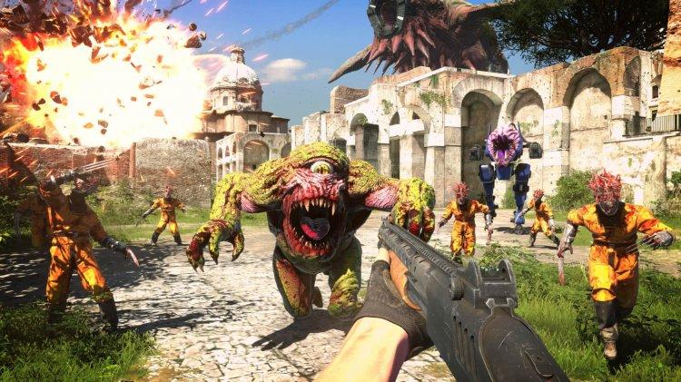 Gamescom 2020 – Serious Sam 4 zeigt neuen Gameplay Trailer